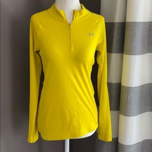Under Armour women's yellow long sleeve top•XS